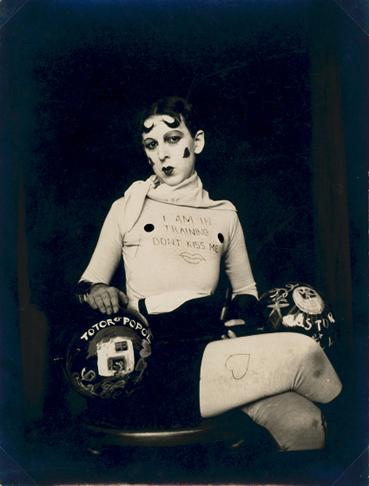 claude cahun_autoportrait 1927
