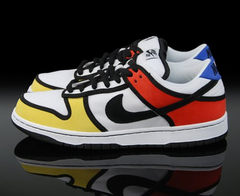 Le modèle Nike Dunk Mondrian, 2008