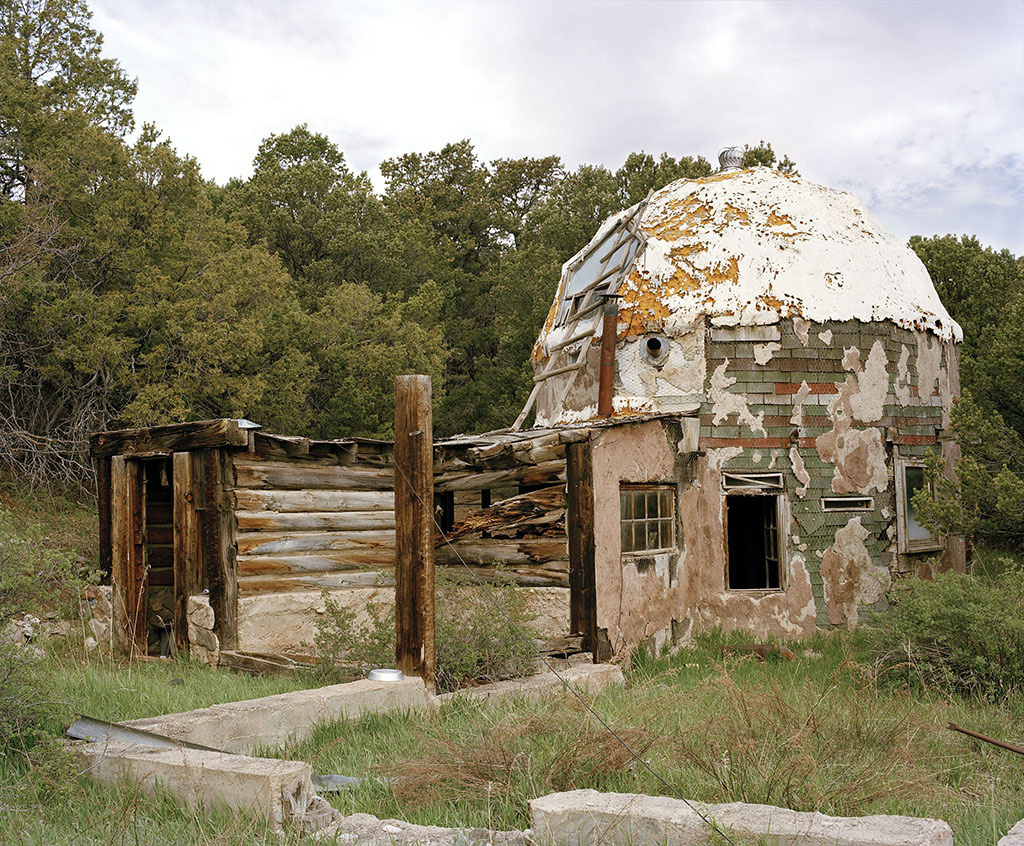 Diane and Robert's ancient dome, Triple A, Colorado 2010